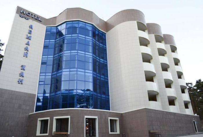 отель глория боровое
