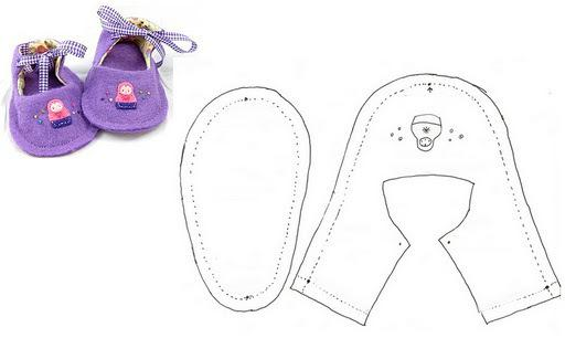 выкройка штанишек для кукол типа baby born