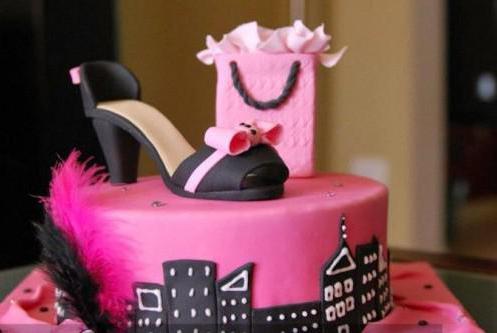 торт на 18 летие девушке