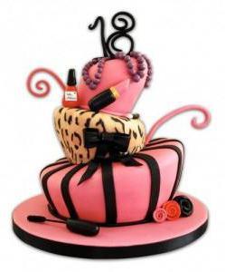 надпись на торте с днем рождения