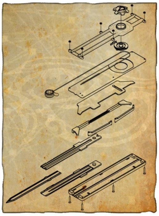 Как сделать механизм клинка