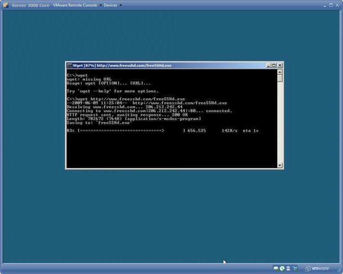 Wget-команды: примеры  Консольная программа для загрузки