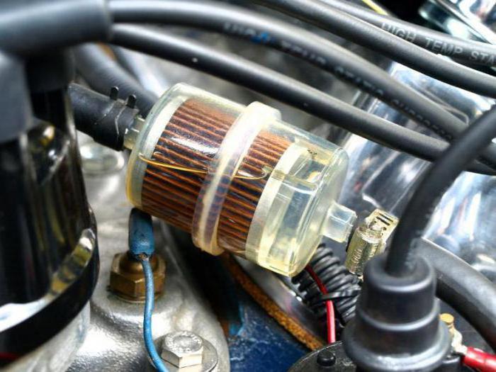 топливные фильтры для бензиновых двигателей