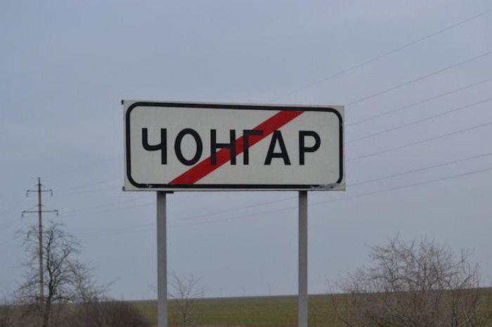 граница чонгар