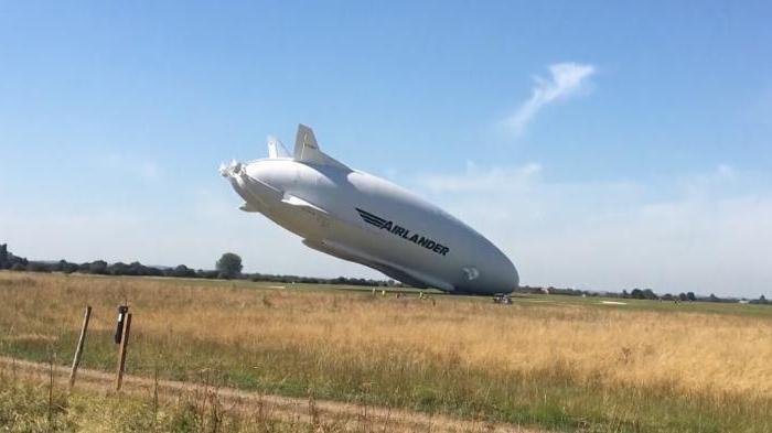 самое большое воздушное судно в британии
