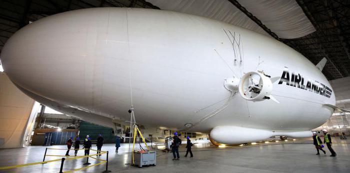 самое большое воздушное судно