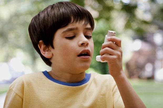 причины возникновения астмы у детей