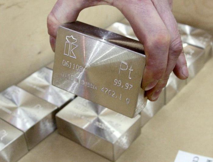 драгоценные металлы платиновой группы