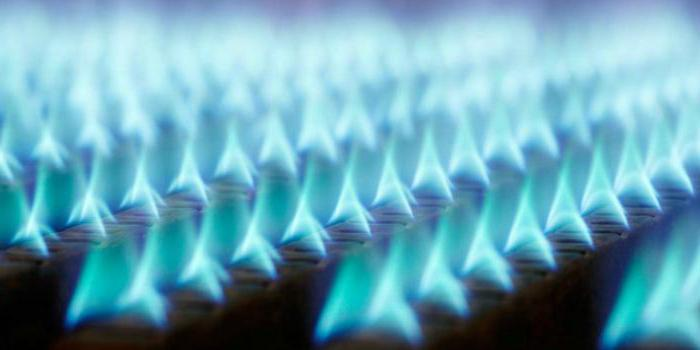 газ вид топлива