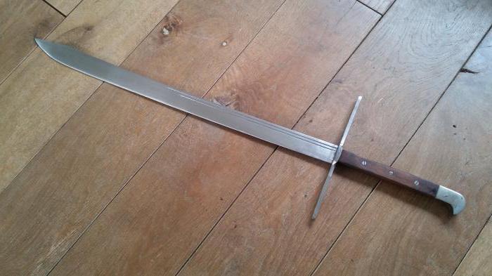 гросс мессер меч