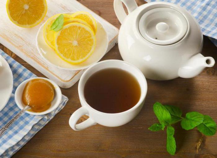 Чай с лимоном отзывы