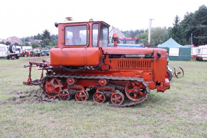 техническая характеристика трактора ДТ 75