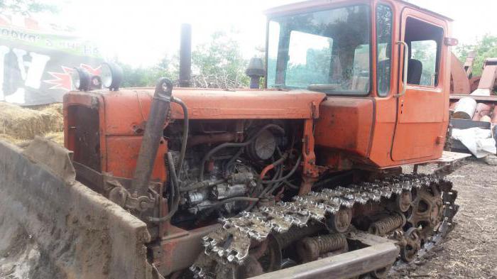 трактор ДТ 75 бульдозер