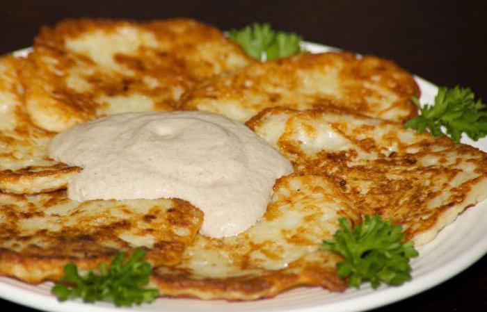 меню белорусской национальной кухни