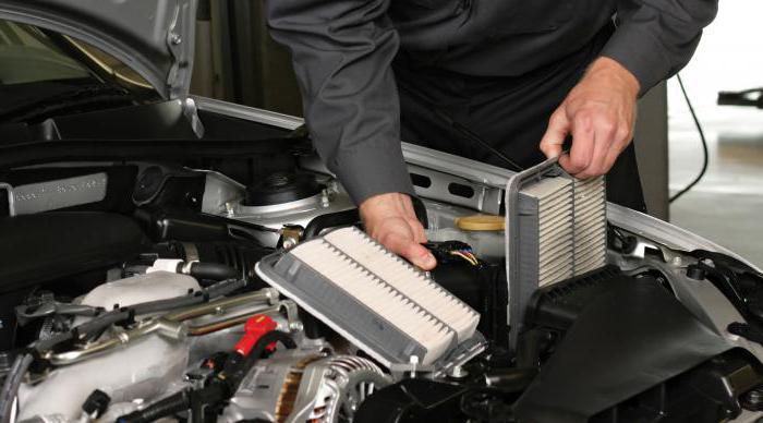 Как часто меняют воздушный фильтр двигателя в машине