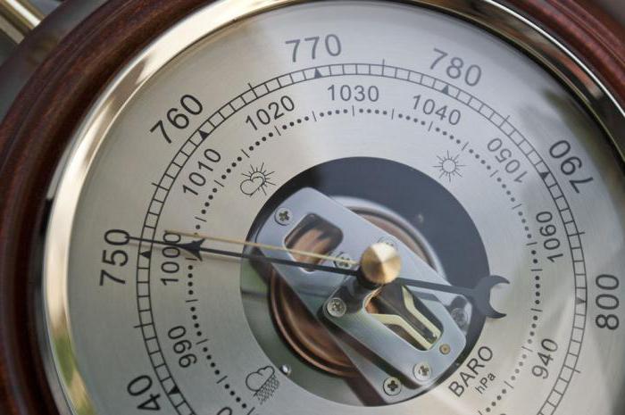 барометр механический