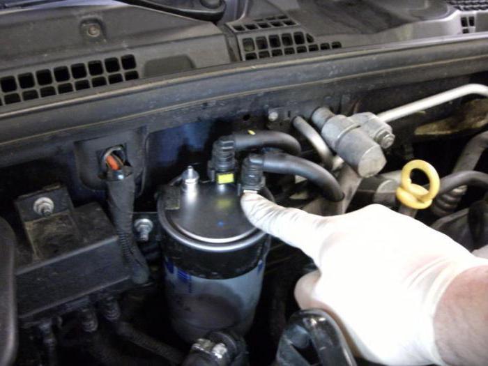менять ли топливный фильтр