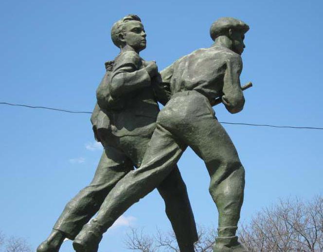 Памятник Шуре Кобер и Вите Хоменко