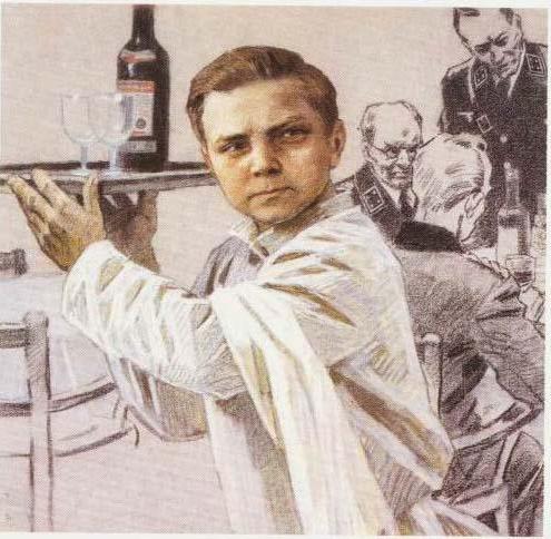 Участник антифашистского подполья