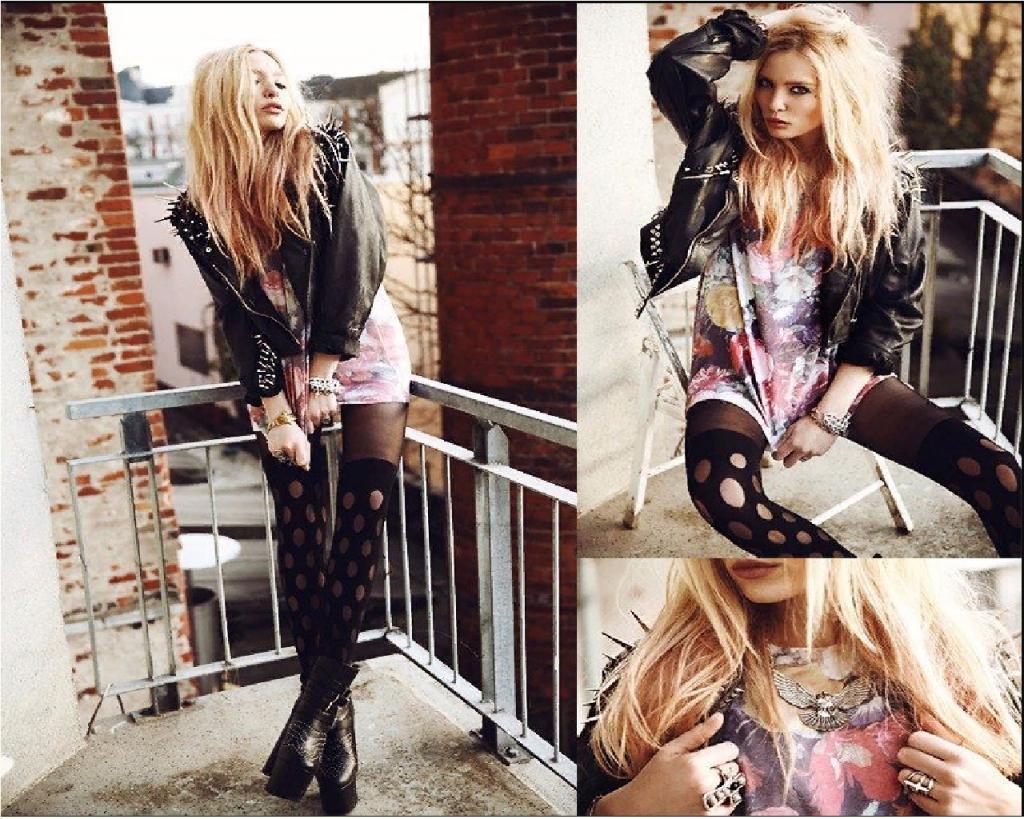 рокерский стиль одежды для девушек