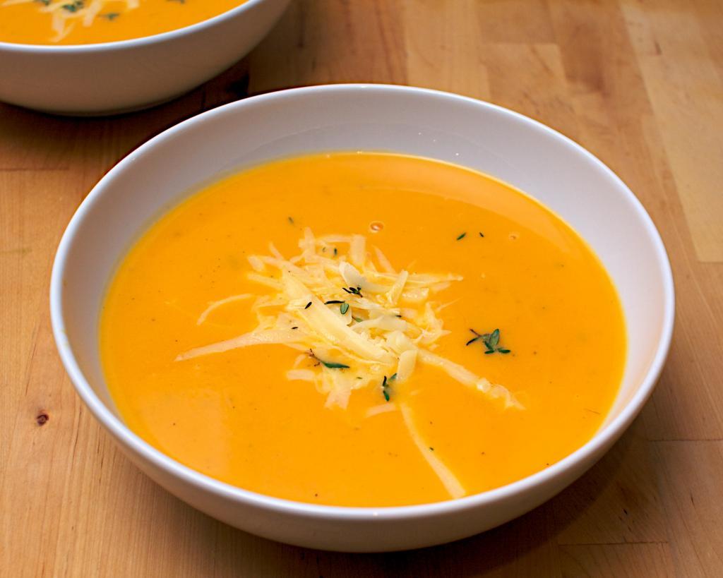 Сырно-тыквенный суп