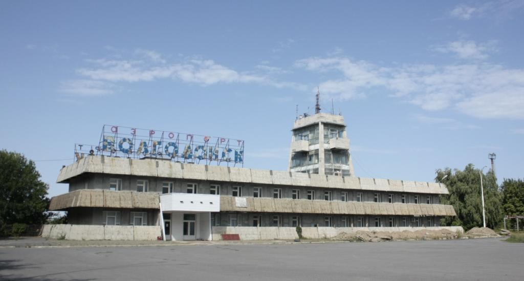 заброшенный аэропорт в г. Волгодонск