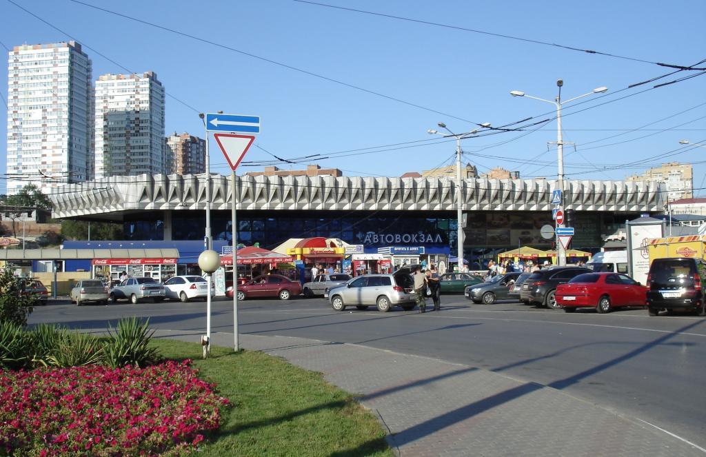 Автовокзал в Ростове-на-Дону