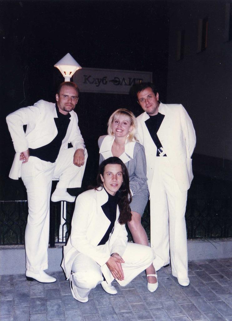 Фристайл на студии звукозаписи. 1991 год.