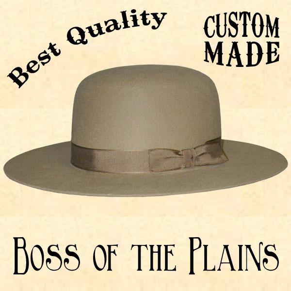 Босс равнин шляпа стетсон