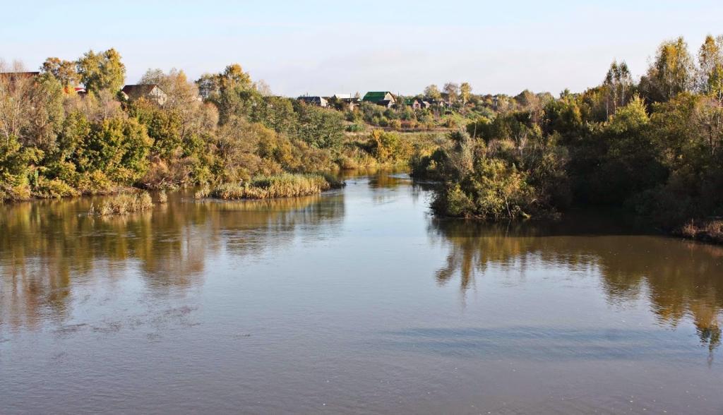 река Мокша Мордовия
