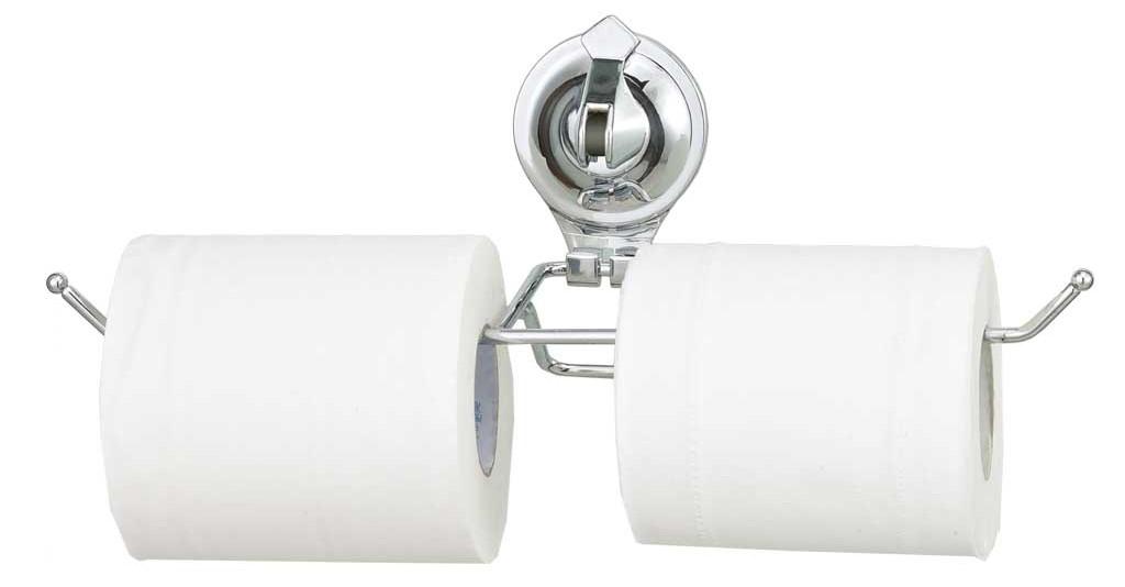 Двойной держатель для туалетной бумаги