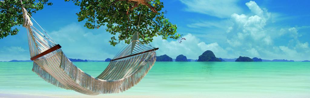 гамак на пляже Таиланда