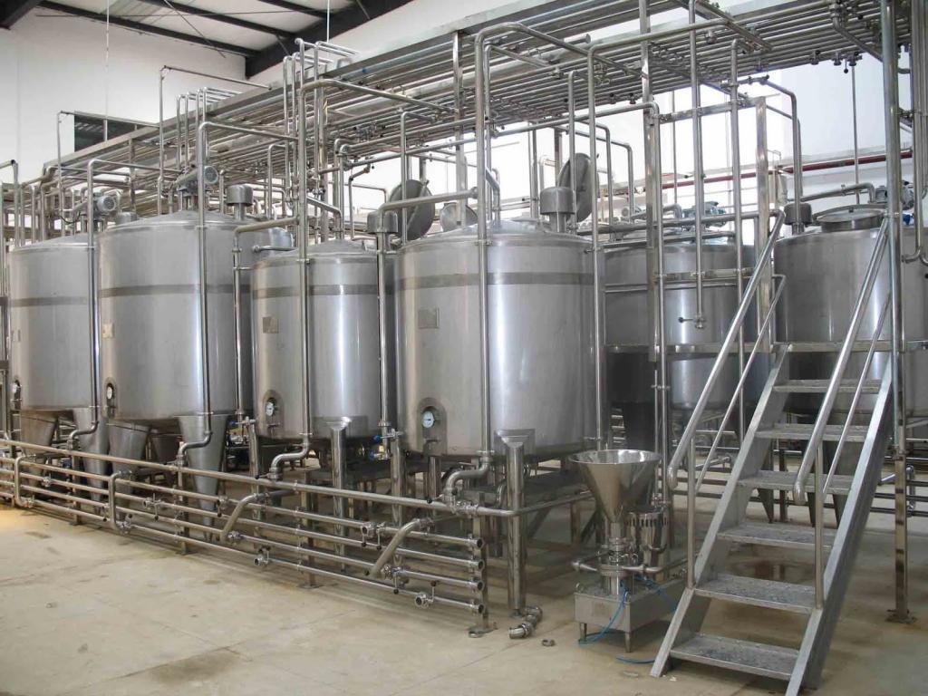 резервуары для хранения молока