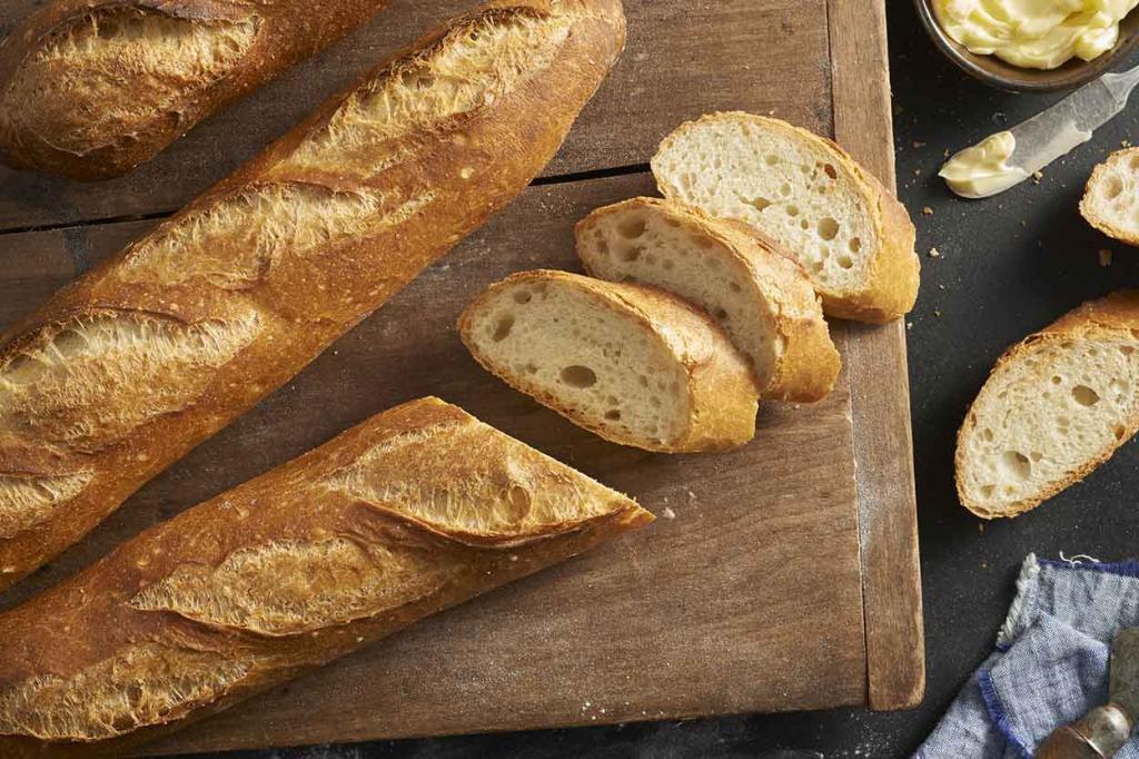 таблица содержания белков жиров и углеводов в хлебе