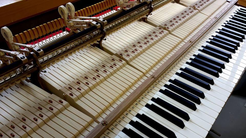 устройства пианино