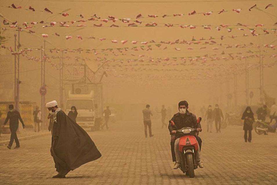 Город Ахваз в Иране