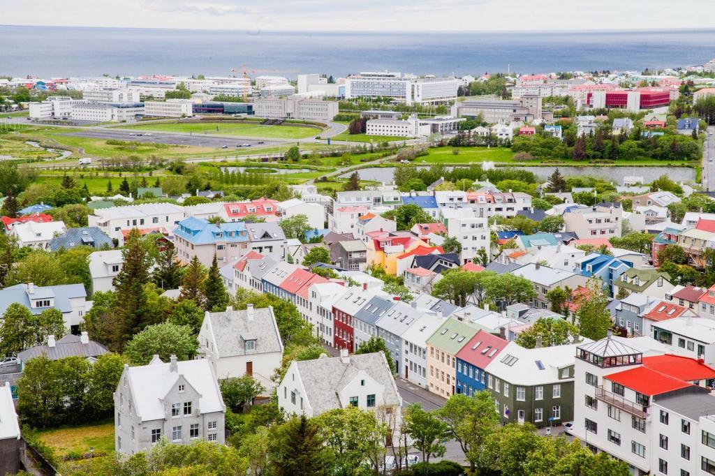 Зеленая столица Исландии