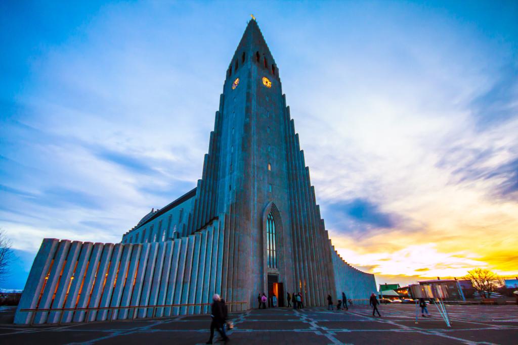 Церковь Халлгримскиркья