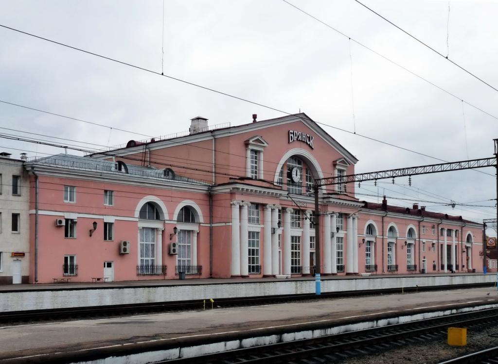 Здание вокзала Брянск-Орловский