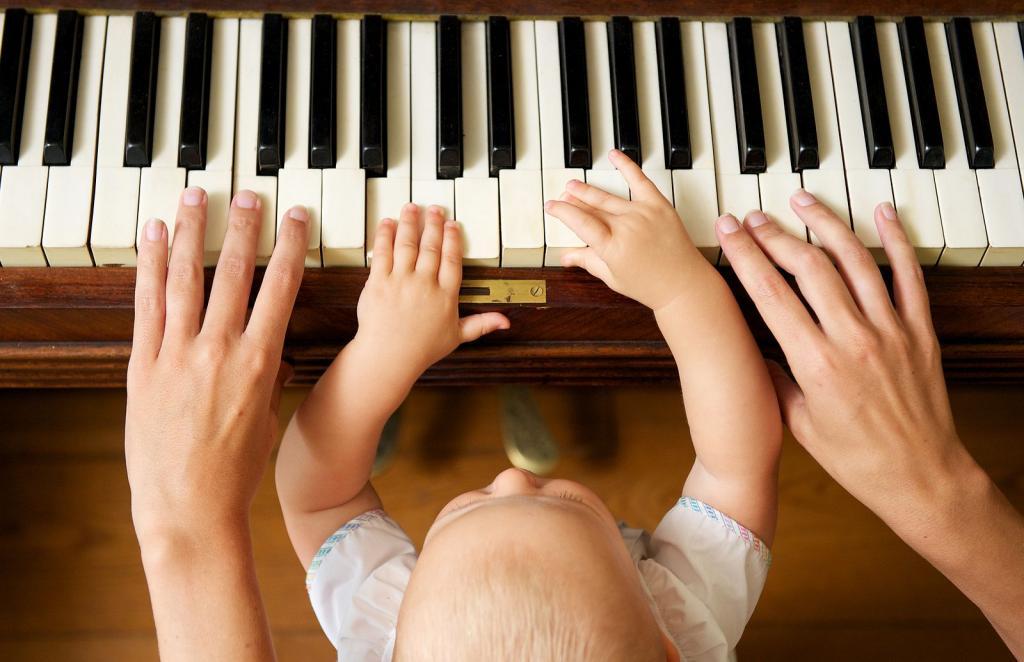 Раннее развитие способностей к музыке