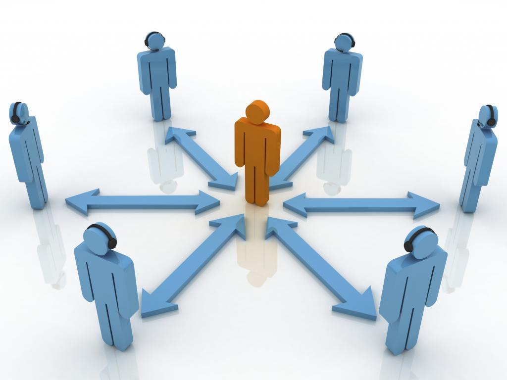 сетевая организационная структура пример
