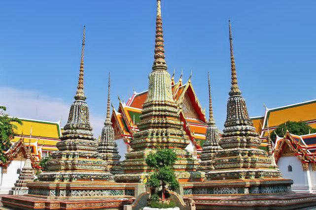 Бангкок Таиланд Ват Пхо