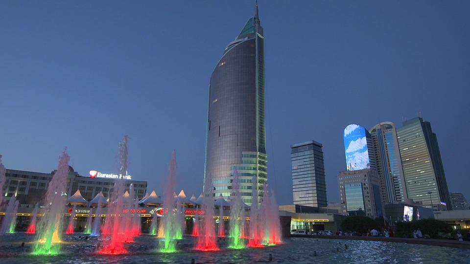 Город Алматы в Казахстане