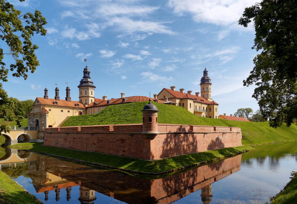 Несвижский замок в Беларуси