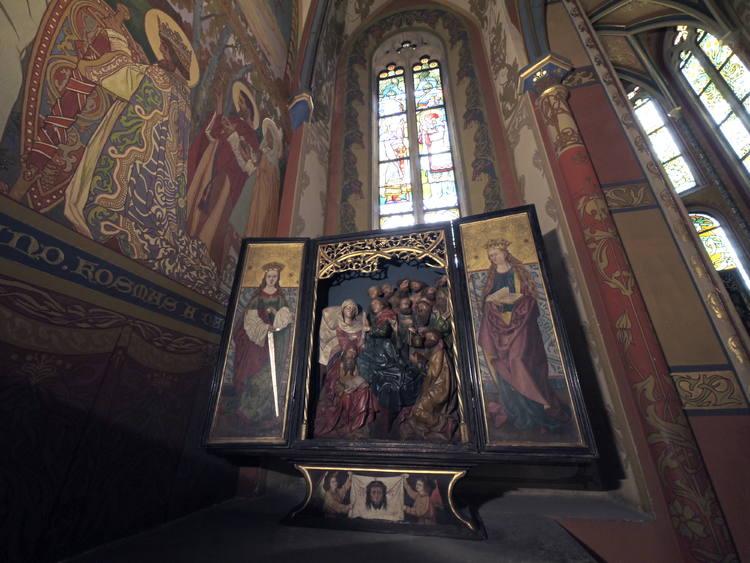 Живопись собора в Кутна Горе