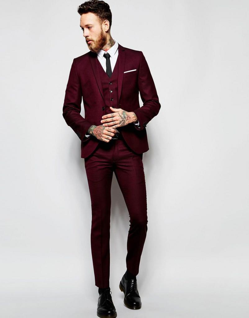 стильно одетый парень