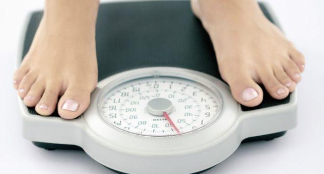 Измерение веса тела
