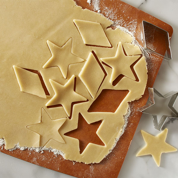 форма для вырезания печенья звезда