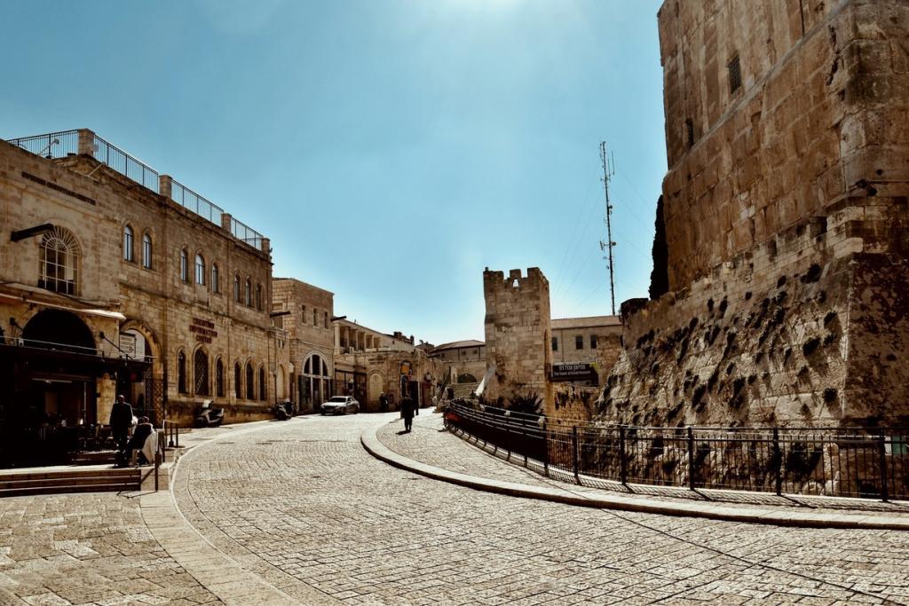 Улица за Яффскими воротами