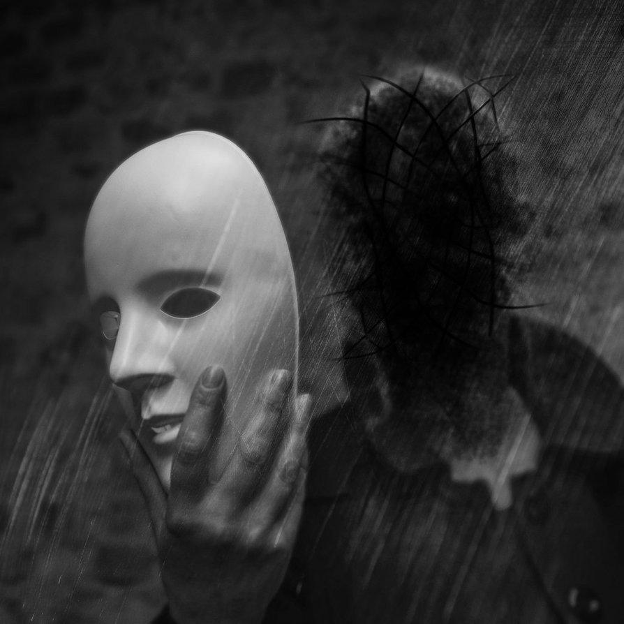 обманщик снимает маску